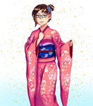 Furisode Request by AmagamiRitsuka