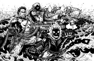 Ring of Fire (inked) by RevolverComics