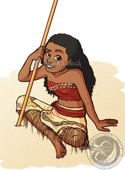 Moana by DevinLeech