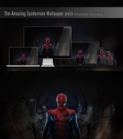 The Amazing Spiderman Wallpaper pack by H-Thomson