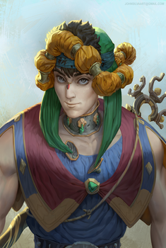 Male Mage by JohnSilva