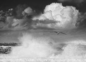 waves and clouds by VaggelisFragiadakis