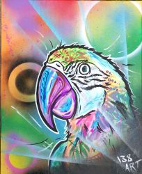 Parrot - Instagram @ 138.art    ADD ME by 138ART