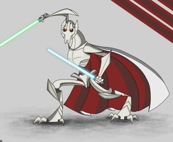 Retro Series Cards - General Grievous by Gwyndor