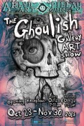 ghoulish gallery art show by ArlynPillay