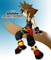 Kingdom Hearts BD Blue FP by CP-BaM-BaM