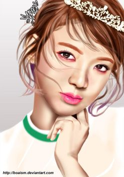 Hyoyeon Digital Painting 51 by BoAism