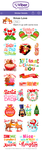 Viber: Xmas Love Sticker Set by MissChatZ