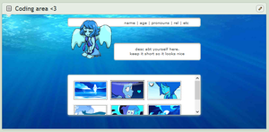 [F2U CORE PAGE CODE] Lapis Lazuli by ConnieBearr