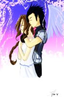 Zack and Aerith- Believe by kawaii-chibi-kotou