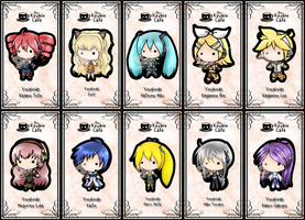 vocaloid keybies by silverei