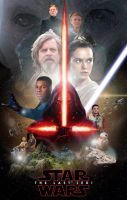 Star Wars Episode VIII The Last Jedi by panchotley