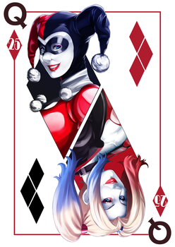 Harley Quinn 25th Anniversary by kevzter