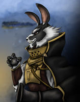 Fanart: Hargrave, the Thunder Earl by wolfpaw