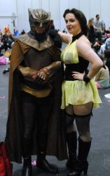 Nite owl and silk spectre mcm london 2015 watchmen by ramtopsman
