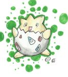 Togepi - Pokemon - Traditional Draw by VictorHoreau