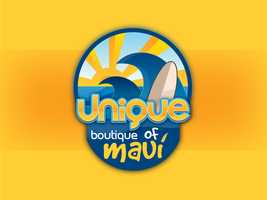Logo for Unique Boutique of Maui by shadow2511