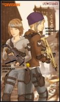 Max and Chloe - Division Agents by noelzzz