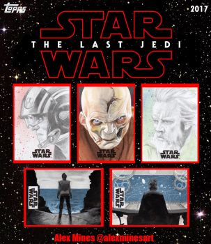 Star Wars - The Last Jedi Topps Artist Returns by amines1974