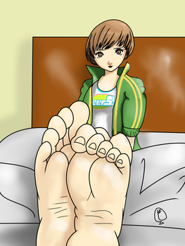CM: 2 of 3 Chie (Dirty variant) by FREETZO