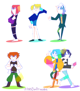 its them bishounen french boys by Thecommandocoffees