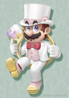 Tux Mario by themeisterart