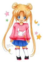 Sailor Moon: Chibi Usagi by Vestal-Spirit