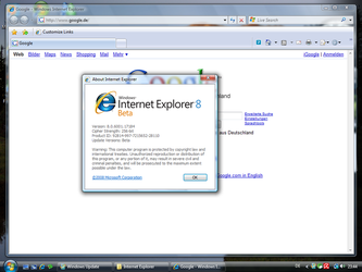 Internet Explorer 8 Tested by Bush1do
