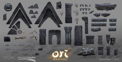 Ori and the Blind Forest - Mount Horu Assets by acapulc0