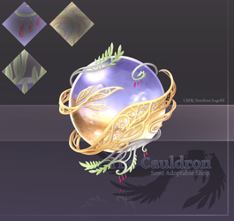 [The Cauldron] Harvest Orb -Stage 3 by Dea-89
