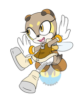 Cream X Charmy Fan Child .:Female:. by VeggieMadness