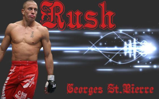 Georges 'rush' st.pierre by Crabpeople
