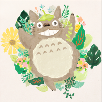 My neighbor Totoro by Usoly