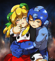 Rockman: Rescue Roll by Rolly-Chan