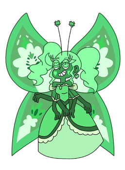 Sideria's Butterfly form by infaminxy