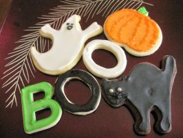 Halloween Sugar Cookies by maytel
