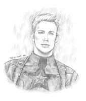 Captain America | Steve Rogers by Taking-meds