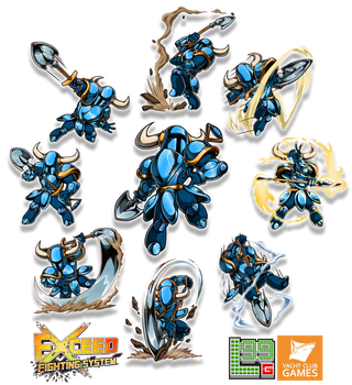 Exceed - Shovel Knight Part 1 by FontesMakua