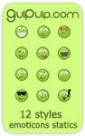 Greenies smilies by tinibook