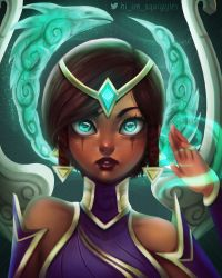 League of Legends Karma by so-squiggly
