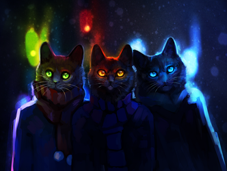 New Year by Happy--Cat