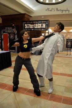 Dr. Horrible and Captain Hammer Cosplay by AshiviAlpha