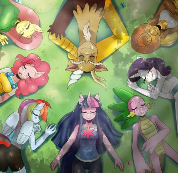 MLP: Resting by ss2sonic