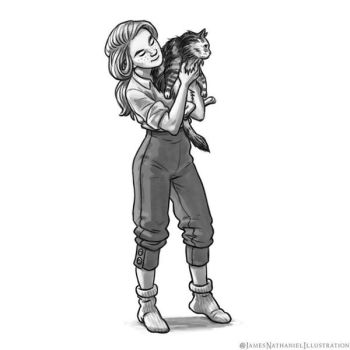 Lilian and Spokes by JNathanIllustration