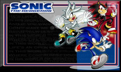 sonic silver shadow desktop300 by lightmega777