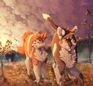 Not Just Kits in Adventure (2016) by MeggisCat