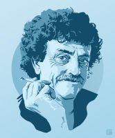 Kurt Vonnegut II by monsteroftheid