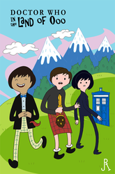 Doctor Who in the Land of Ooo by DrFaustusAU