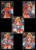 MS VICTORY 5 SKETCH CARDS by AHochrein2010