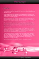 Pink bubble CSS journal by Vyano-Xiaah